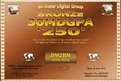 DM2RM-30MDG-PA-250-Certificate