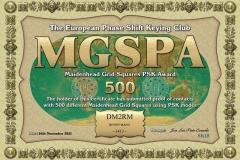 DM2RM-MGSPA-500