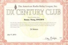DM2RM_DXCC_20m