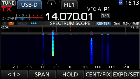 ICOM IC-7300 – Digimodes mit interner Soundcard – DM2RM – German